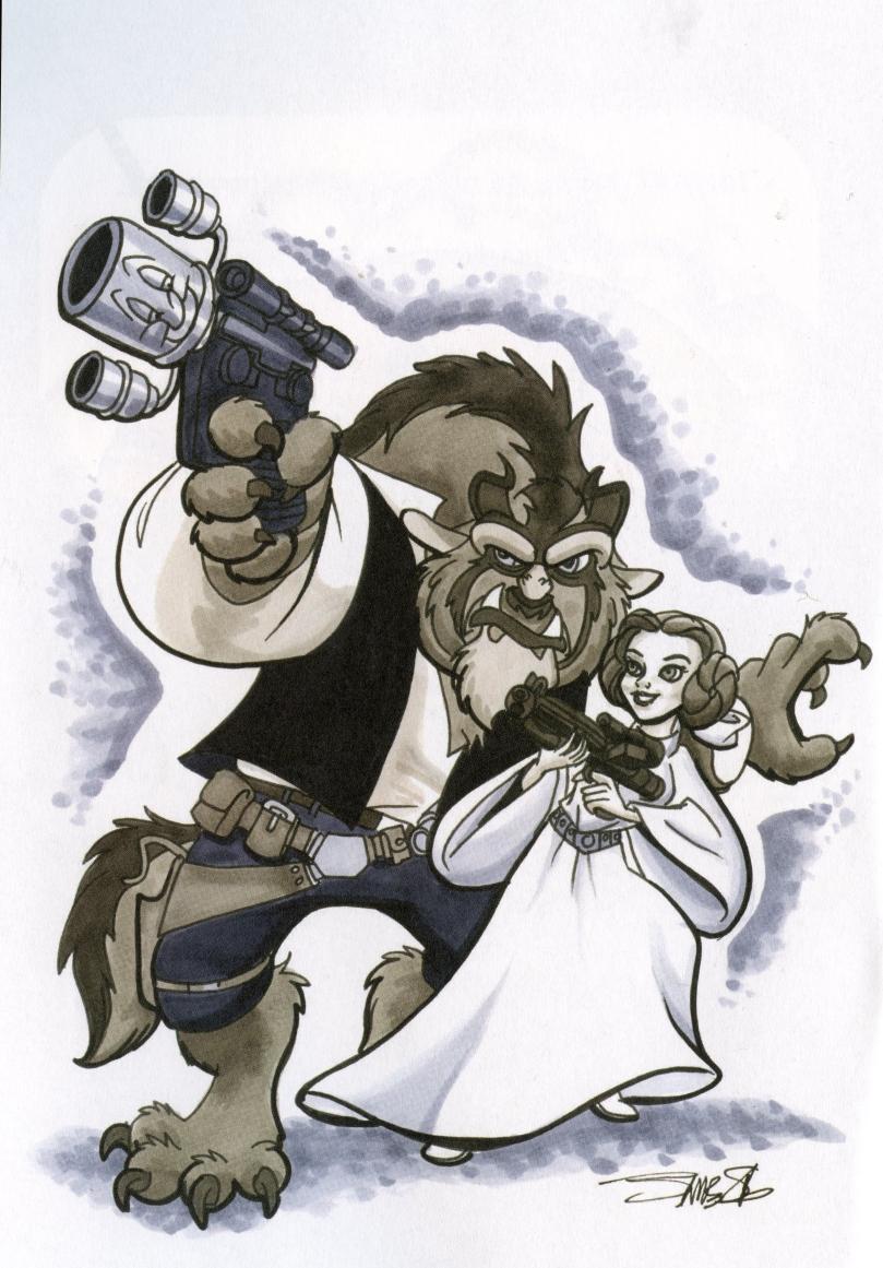 Bell & Beast / Leia & Han