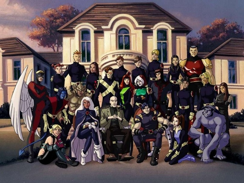Group Photo of Xavier's School for Gifted Youngsters
