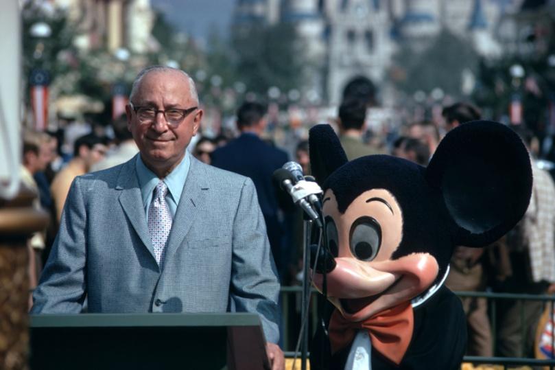 Mickey used to be creepy.