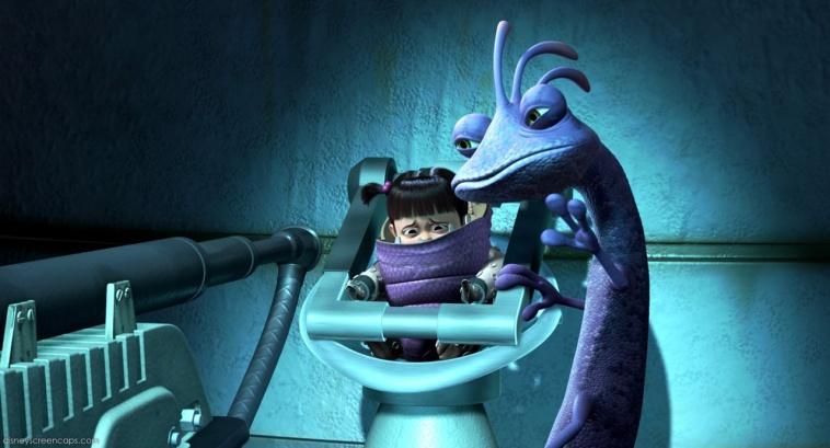 Nỗi ám ảnh trở thành hù dọa viên giỏi nhất khiến Randall bất chấp mọi thủ đoạn, thậm chí hắn còn bắt cóc bé Boo để làm vật thí nghiệm cho chiếc máy hút tiếng hét của hắn