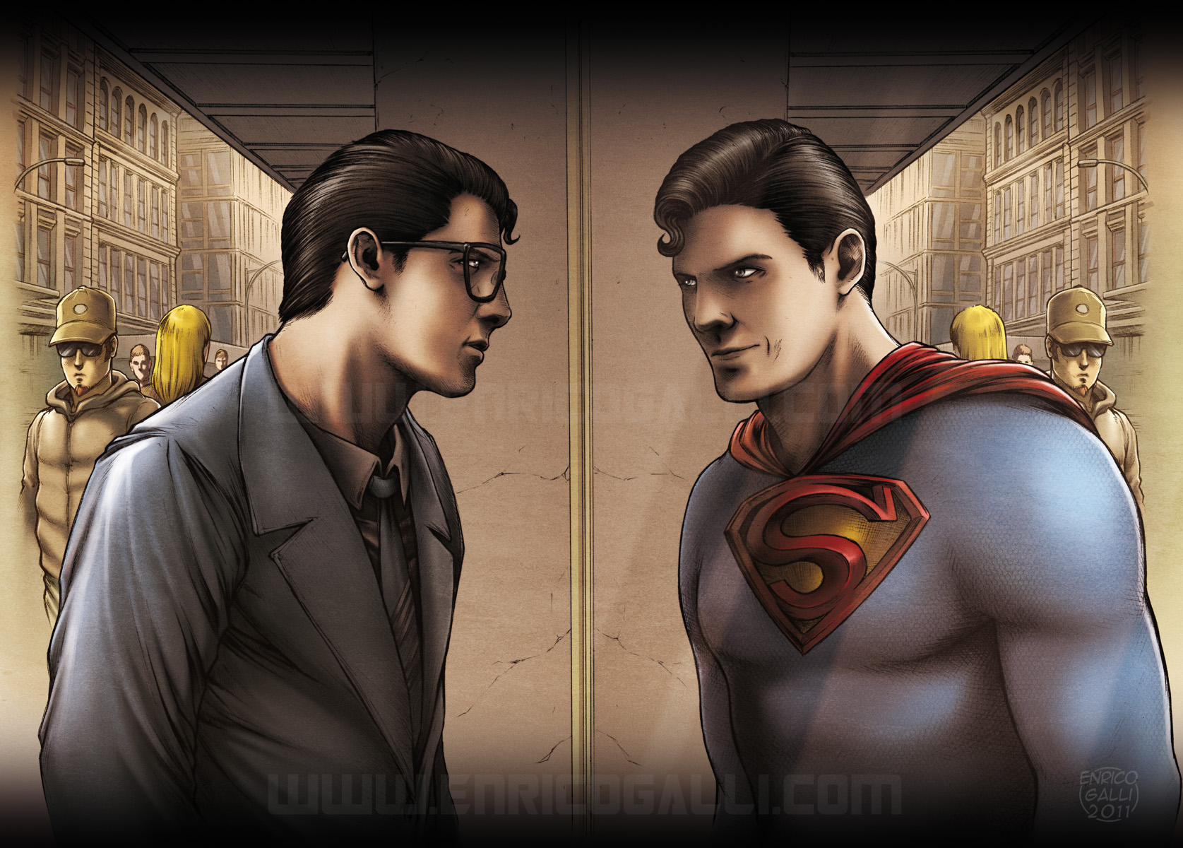 Why nobody can tell that clark kent is superman for Kent superman