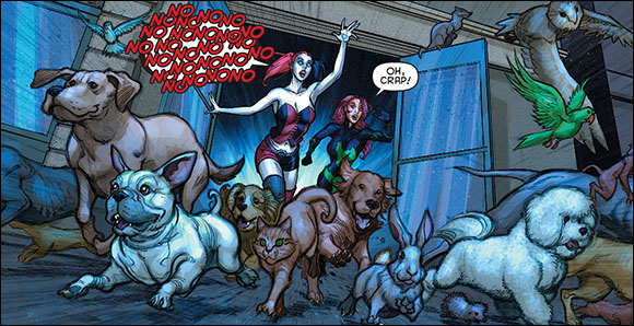 Harley-Quinn-2-Dogs