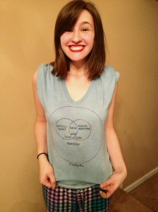 Awesome T-Shirt courtesy of the lovely ladies of FangirlsAreWe! Thanks again, Fangirls!