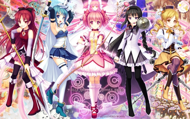 Image result for anime magical girl