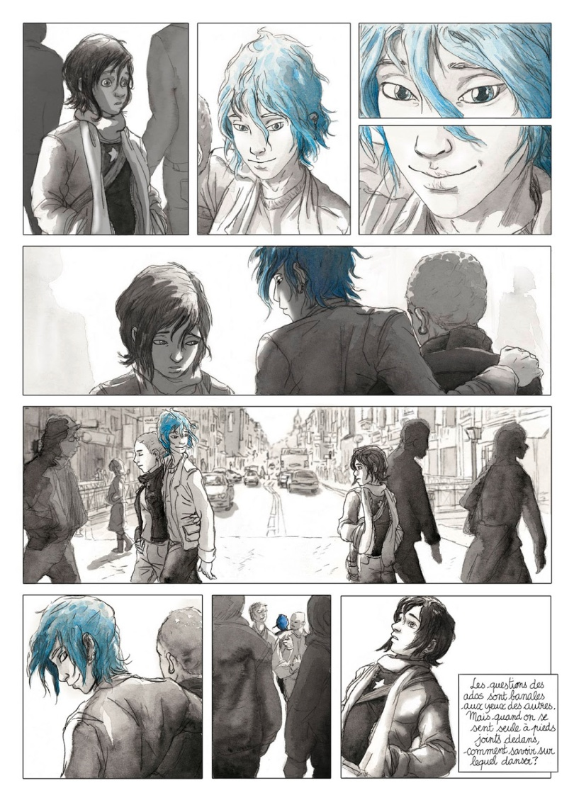 Comic: Blue Is The Warmest Color – Fangirls Are We