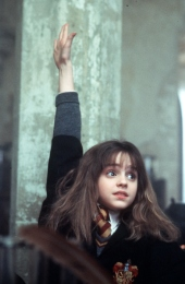 Image result for hermione granger hand up