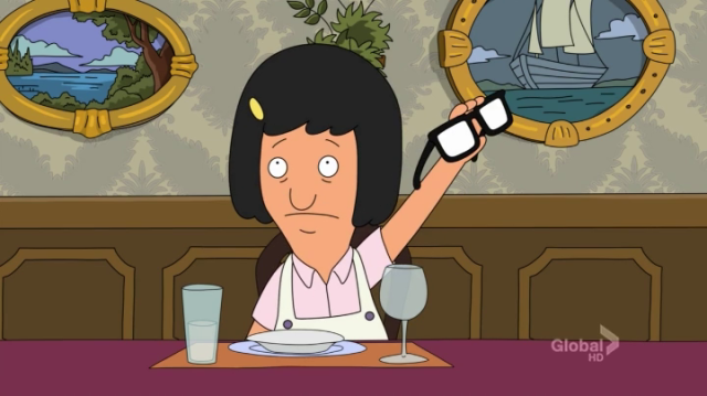So lets raise our glasses to Tina Belcher.