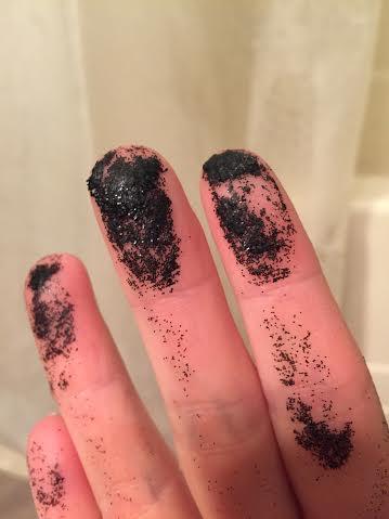 Too much glitter.