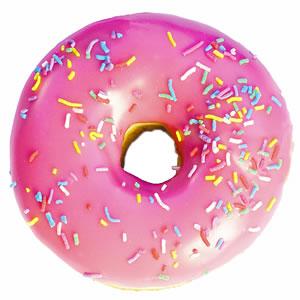 Pink_frosted_sprinkled_donut