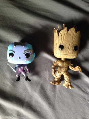 Nebula and Groot were my choices this time.