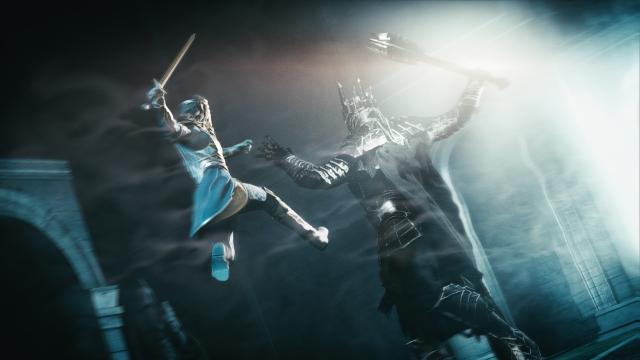 Celebrimbor vs. Sauron