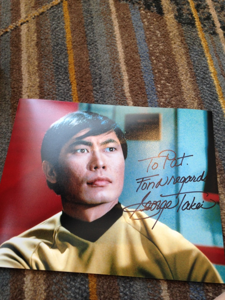 A signature from the legend! For my buddys dad who is a huge Trekkie!