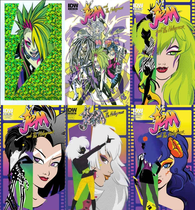 Jem Issue 2 covers