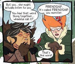 rosie and bw- friendship