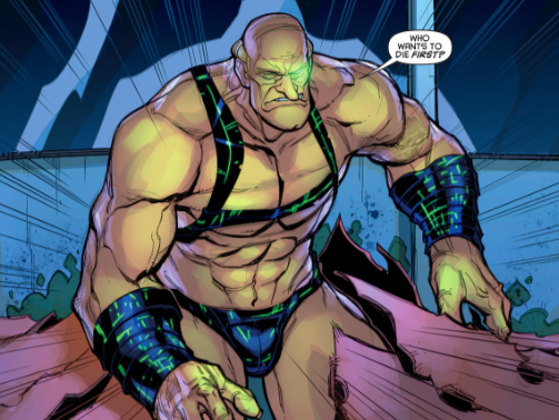 At least men are shown objectified in this comic too!