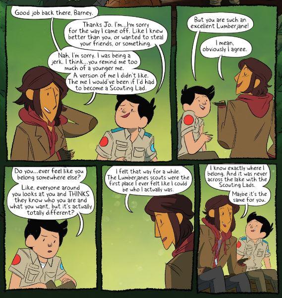 jo and barney- understanding