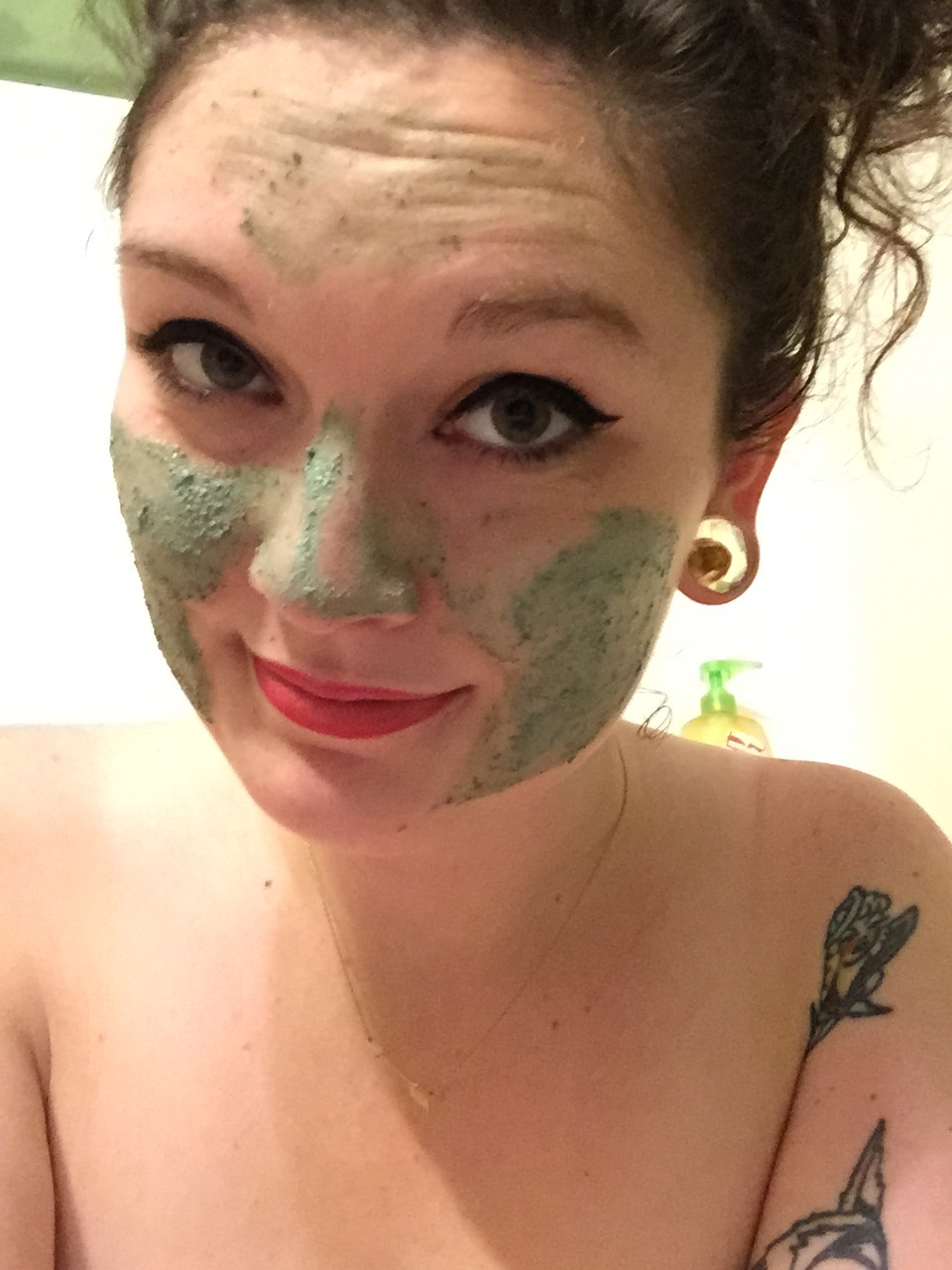 Ive Also Started Falling In Love With The Cosmetic Warrior Fresh Face Mask This And Lettuce Were Both Recommended To Me Via LUSHs Twitter