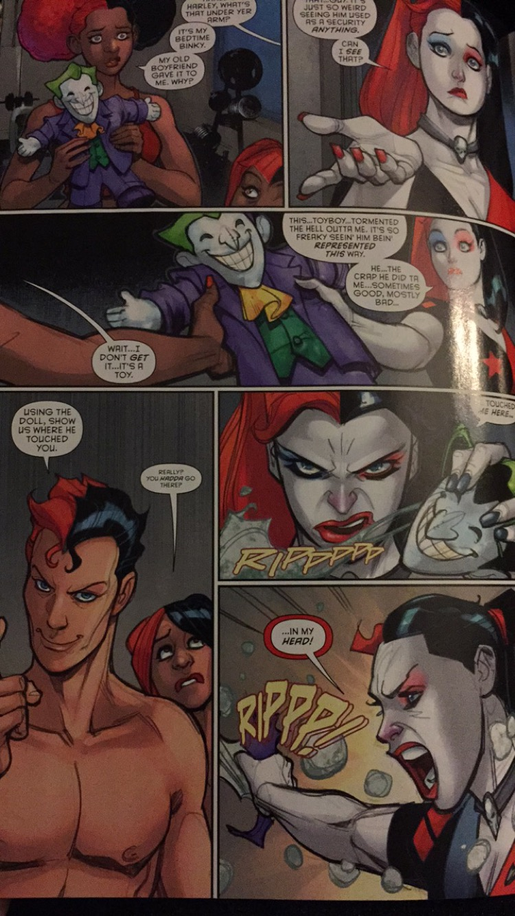 Atta girl, Harley.