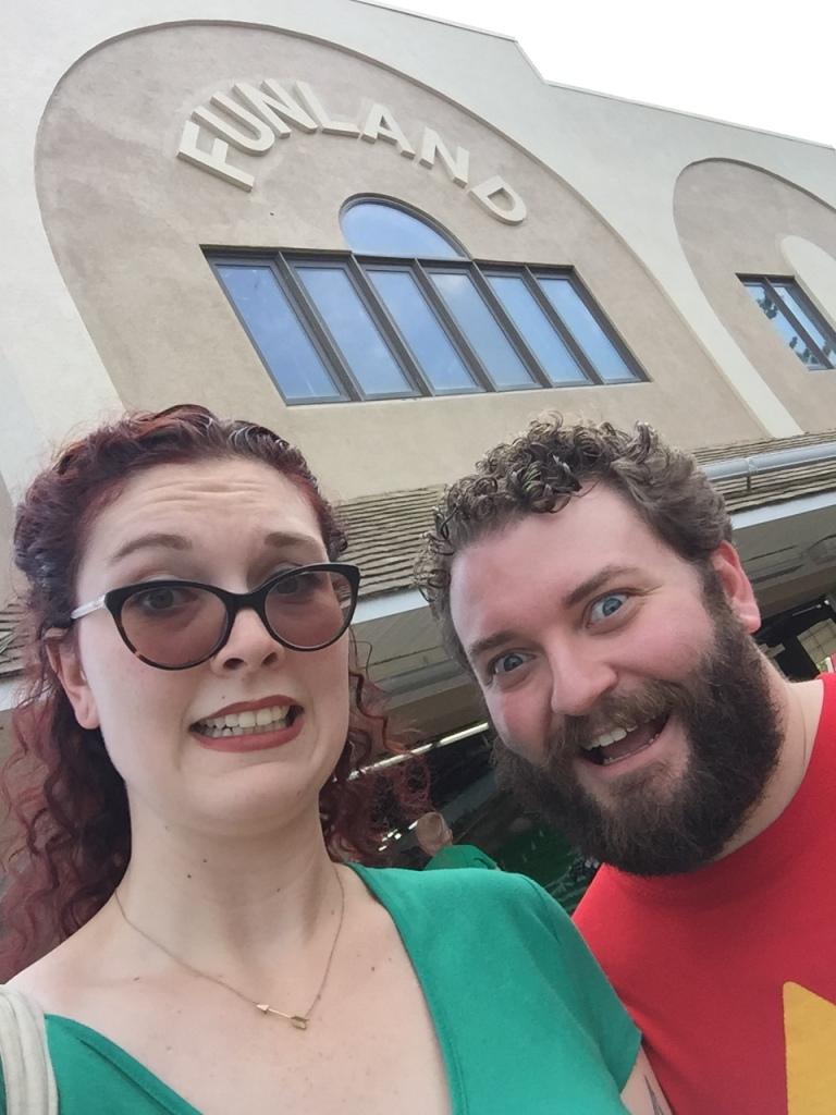 Connie & Steven at the arcade!