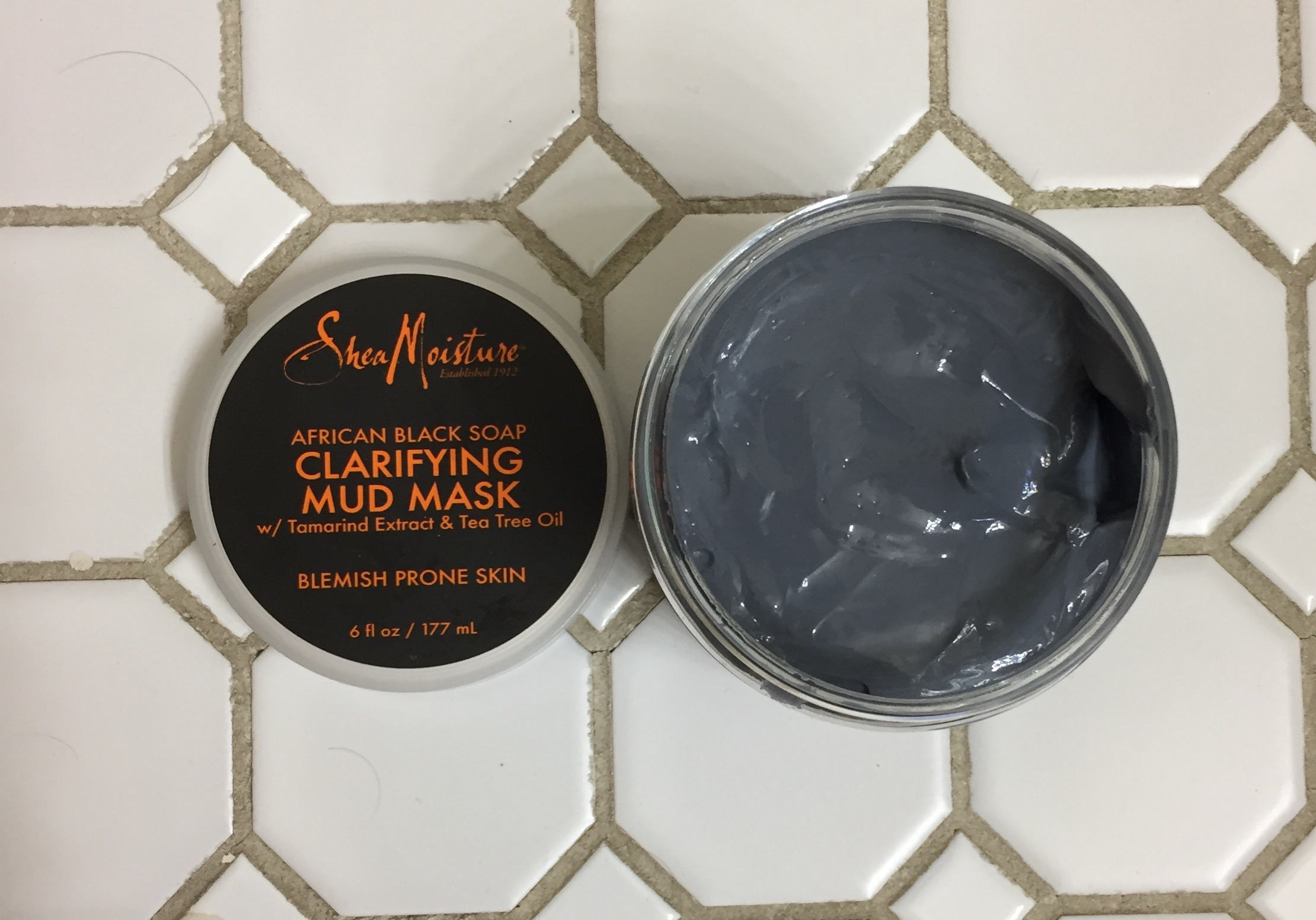 African Black Soap Clarifying Mud Mask by SheaMoisture #16