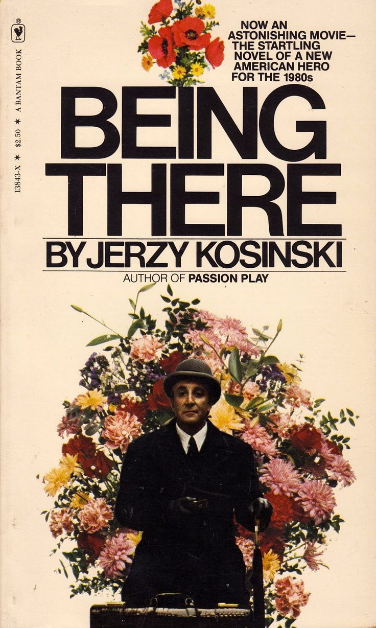 an analysis of jerzy kosinskis novel being there Being there is a 1979 film directed by hal ashby, adapted from the 1971 novel written by jerzy kosińskithe film stars peter sellers, shirley maclaine, melvyn douglas, jack warden, richard a dysart and richard basehart.
